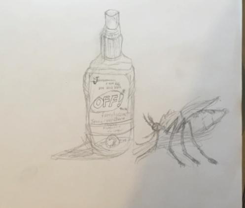 Irony Drawing – Gr. 5/6 Art
