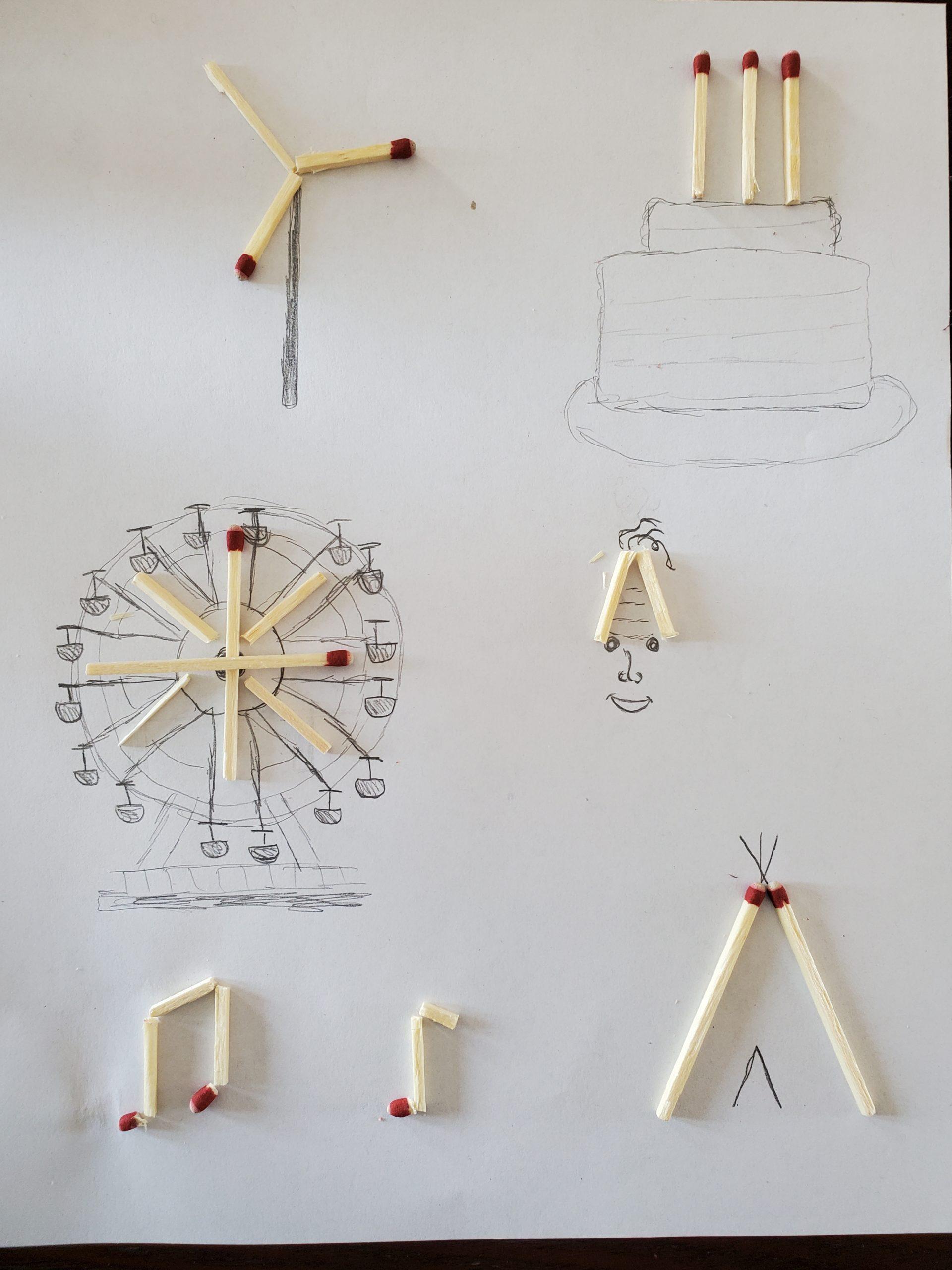 Vicotr Nunes artwork by Grade 7